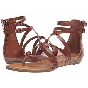 Blowfish Bungalow Wedge Gladiator Sandals • size 7